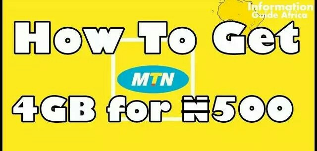GET 4GB FOR #500 ON THE MTN YAFUN YAFUN PLAN – 1mic